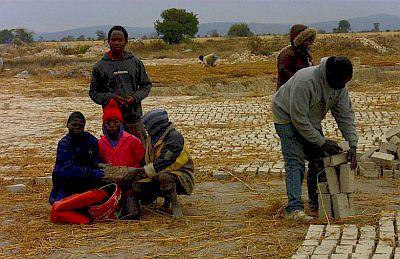 creating and laying bricks